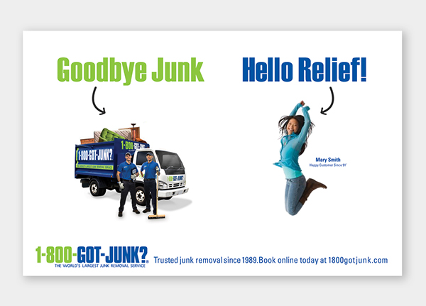 1800-GOT-JUNK? Advertisement Campaign on Behance