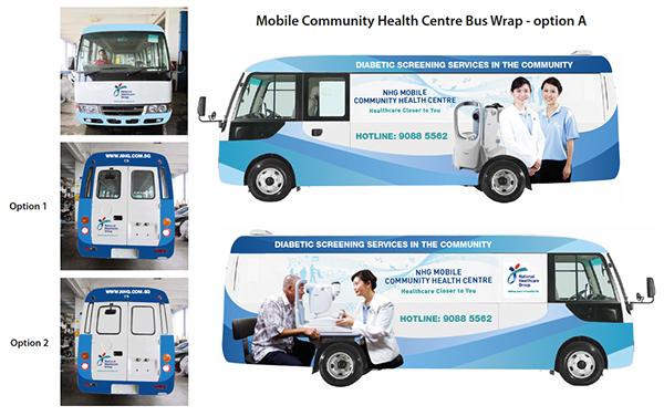 NHG Mobile Community Health Centre on Behance