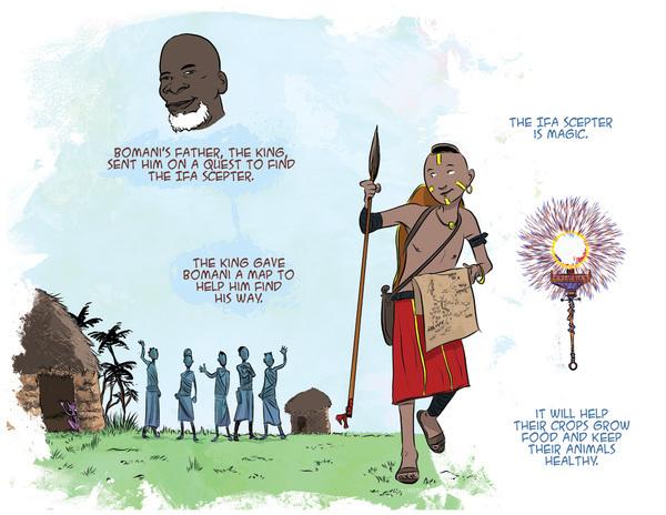 fantasy adventure africa kids Fun action ogres Adaptation