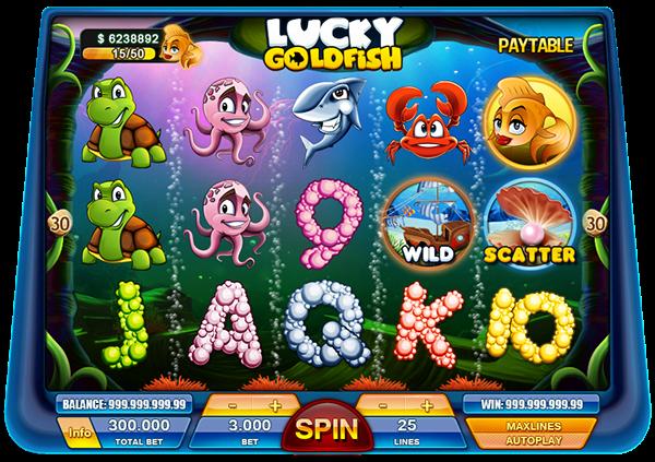 Lucky Goldfish Slot On Behance