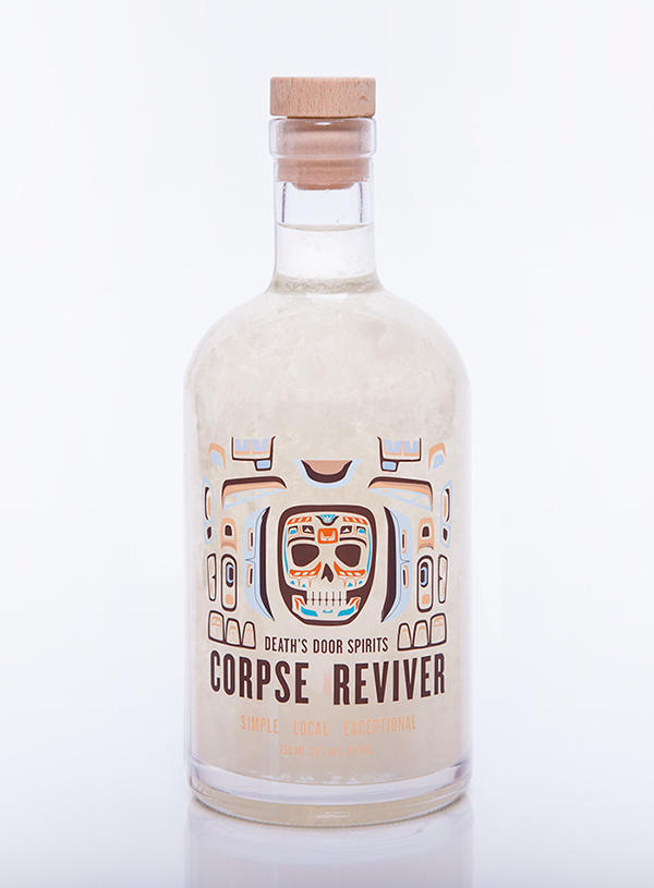 Death's Door Spirits Corpse Reviver on Behance