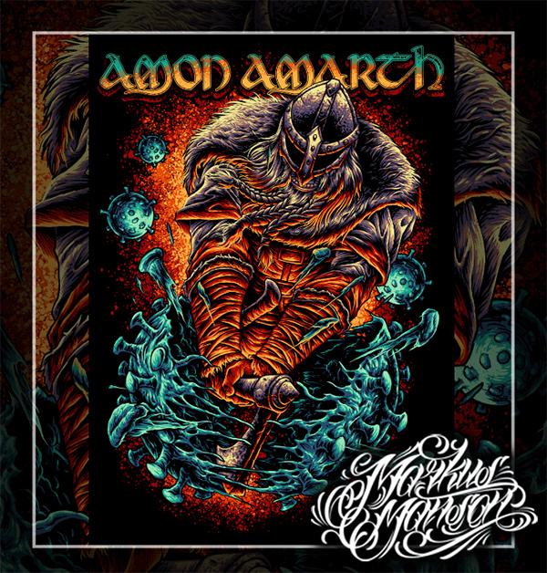 AMON AMARTH X COVID19
