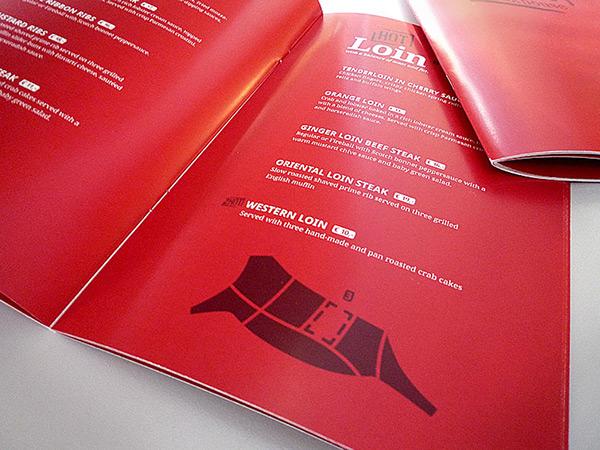 Coporate Design restaurant Steakhouse 2hot