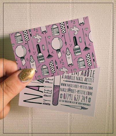 hand drawn seamless pattern Business Cards design nails patten Surface Pattern drawn monochrome