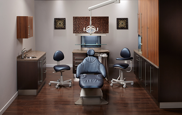Artizan Expressions Dental Operatory Cabinetry On The