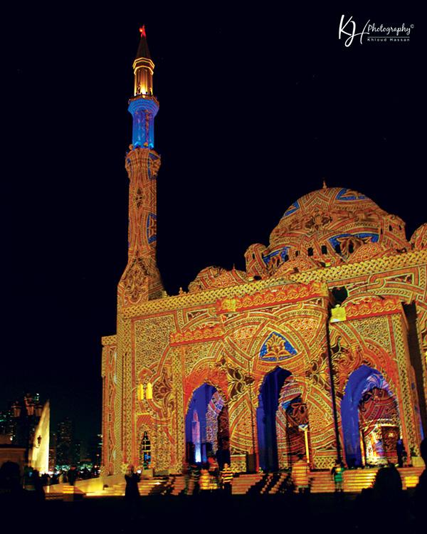 Sharjah Light Festival-2013 On Behance