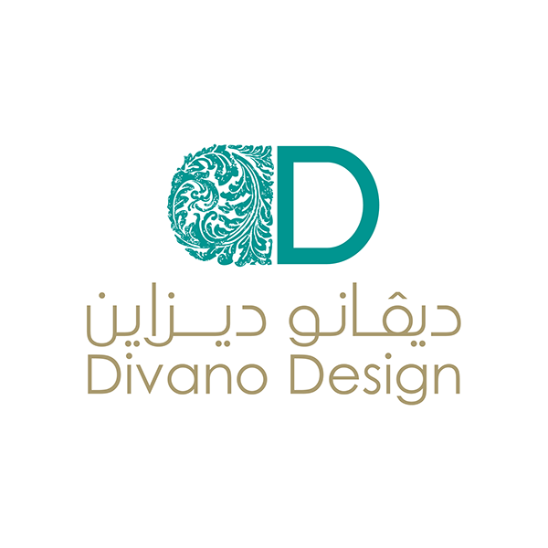 Divano design logo on behance for Modern interior design logos