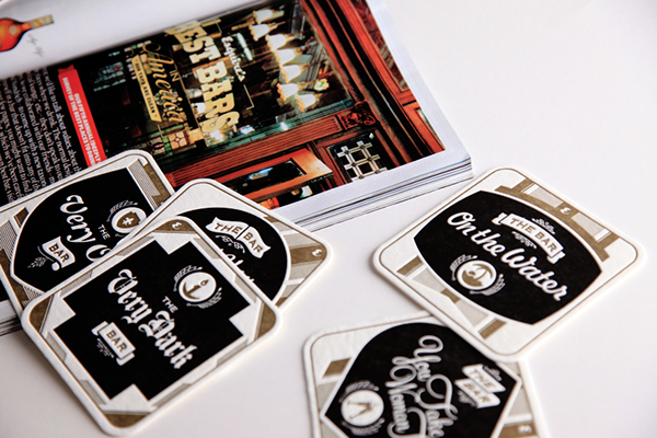 """Esquire Magazine - """"The Best Bars in America"""" Coasters on ..."""