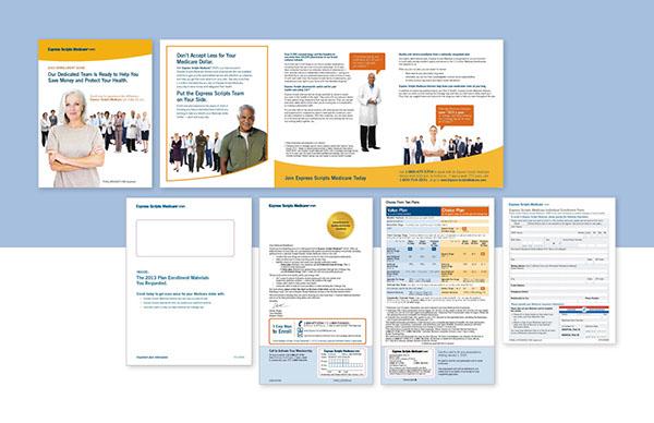 Express Scripts Medicare Open Enrollment Kit on Behance