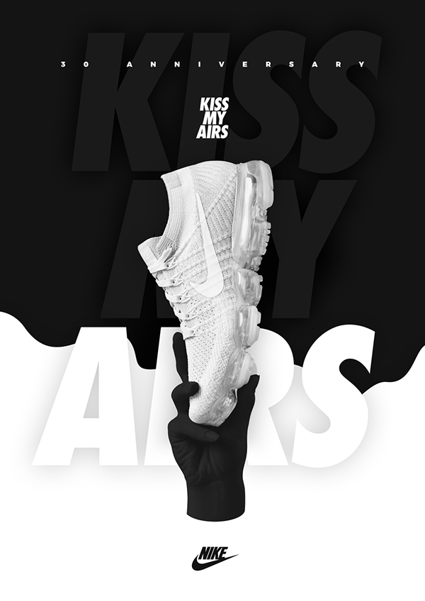 NIKE x KISS MY AIRS on Pantone Canvas Gallery