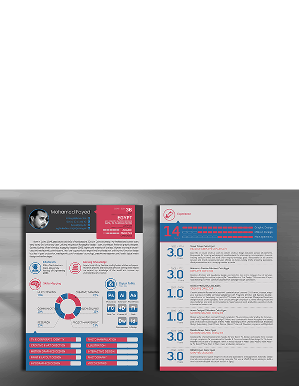 Resume CV Curriculum Vitae template free freepie