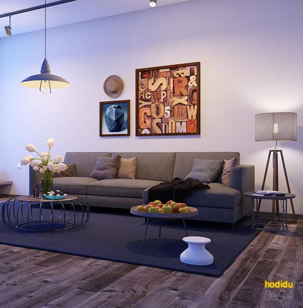 完美的34個客廳牆壁顏色欣賞