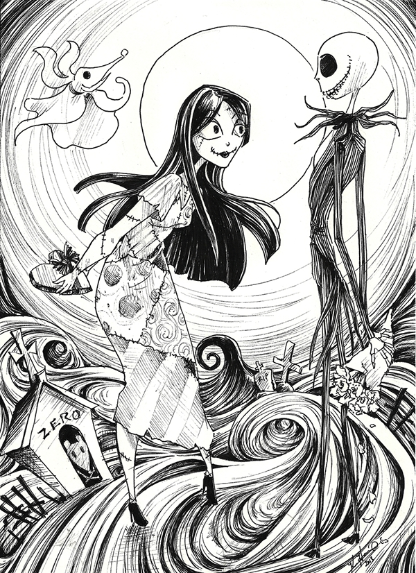 Our First Valentine (Nightmare Before Christmas) on Behance