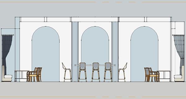 cuill re restaurant on scad portfolios. Black Bedroom Furniture Sets. Home Design Ideas