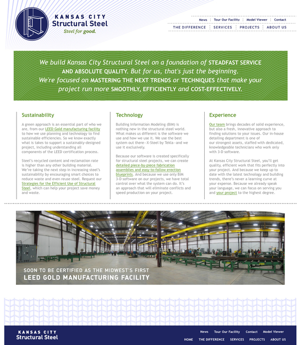 Kansas City Structural Steel Brand And Web On Aiga Member Gallery