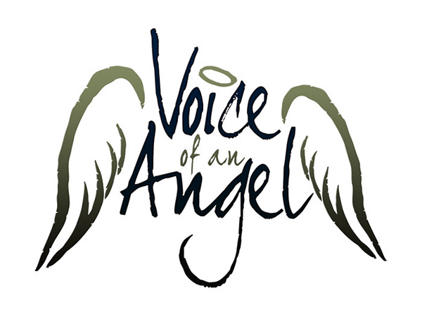 Voice of an angel logo design on behance Angel logo design