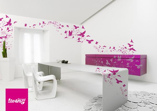 wall decor text decoration decor design Interior