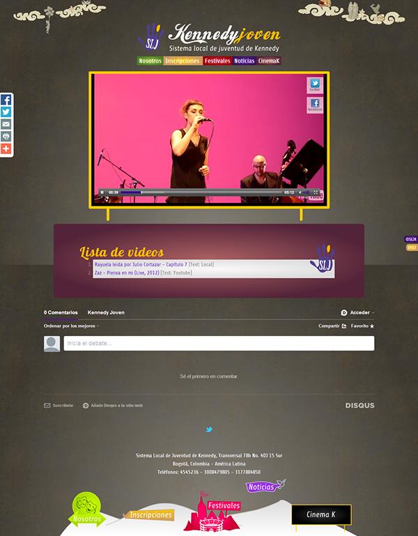animate Web brand creation color Responsive CROSS-BROWSER