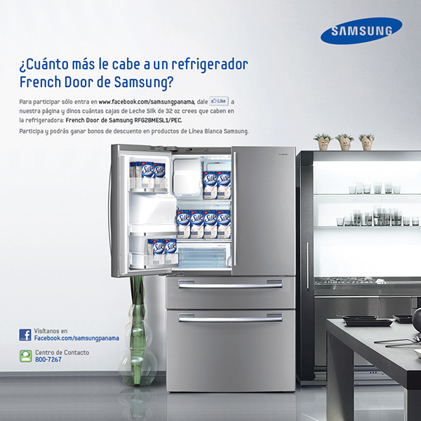promotion samsung refrigerators on behance. Black Bedroom Furniture Sets. Home Design Ideas