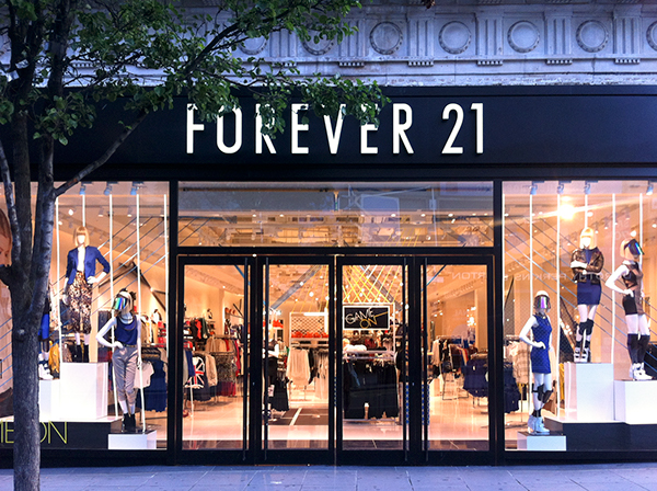 Forever 21 game on window display on behance for Window design jobs london