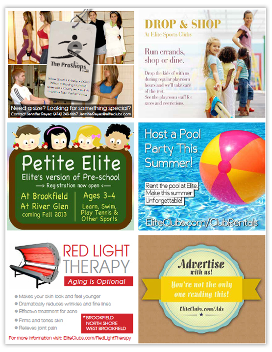magazine ads activity guide mail