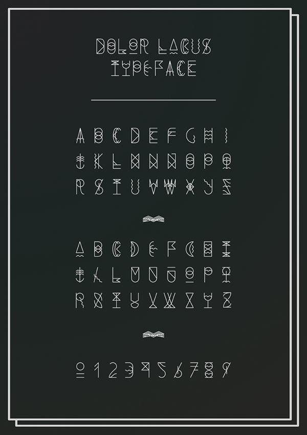 dolor lacus typefont Typeface lorem ipsum luishock type font id justo sem mauris