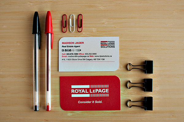 Madison jager royal lepage business cards on behance reheart Images