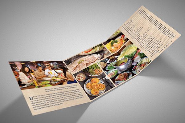 brochure 37street vietnam restaurant
