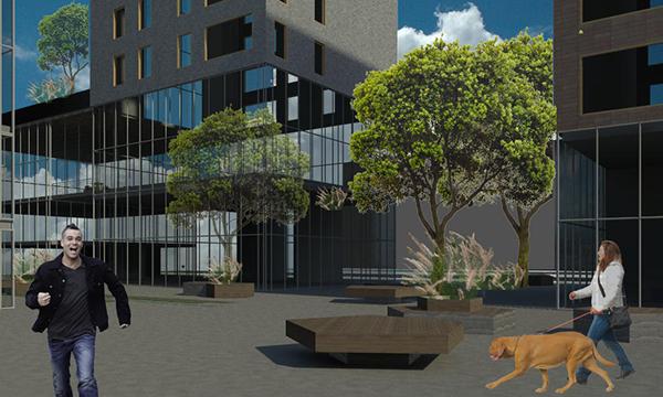Propuesta intervenci n urbana zona industrial bogot on for El comercio oficinas