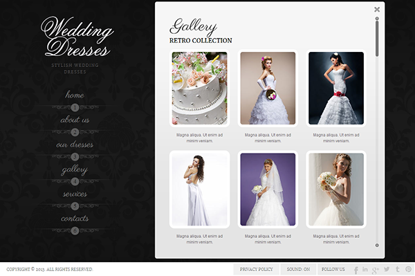 Wedding dresses websites all dress for Website for wedding dresses