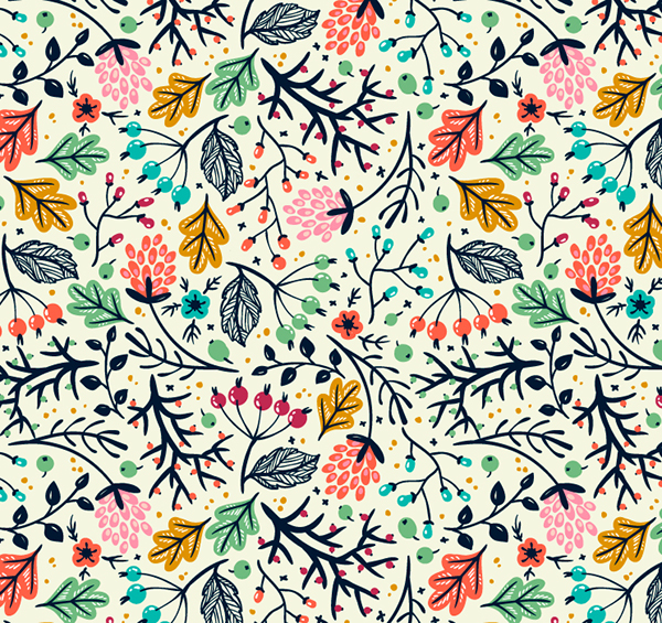 Simple and floral vector seamless patterns on behance simple and floral vector seamless patterns on behance thecheapjerseys Choice Image