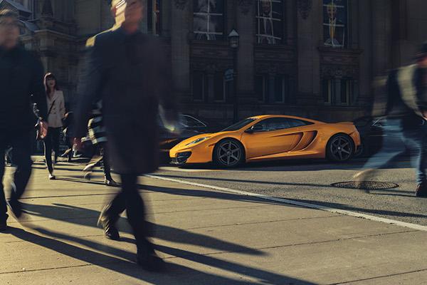 McLaren MP4-12C Photography