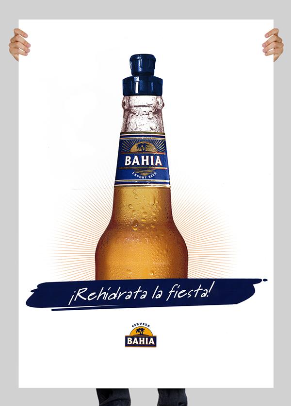 Bahia beer on behance for Posters para gimnasios