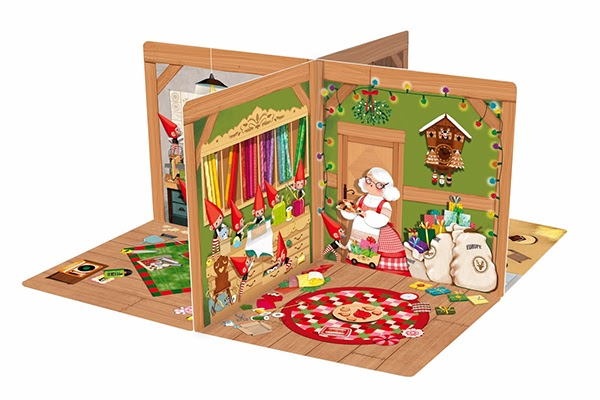 Carousel books on behance - Petite maison de noel decoration ...