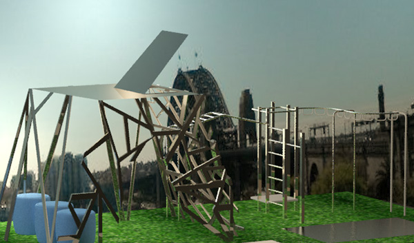 Sydney Rooftop Playground Design on Behance