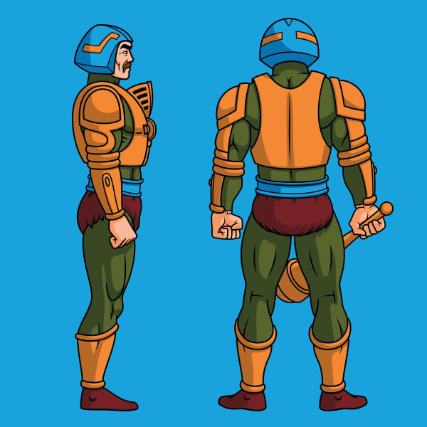 Character Design Masters : Masters of the universe on behance