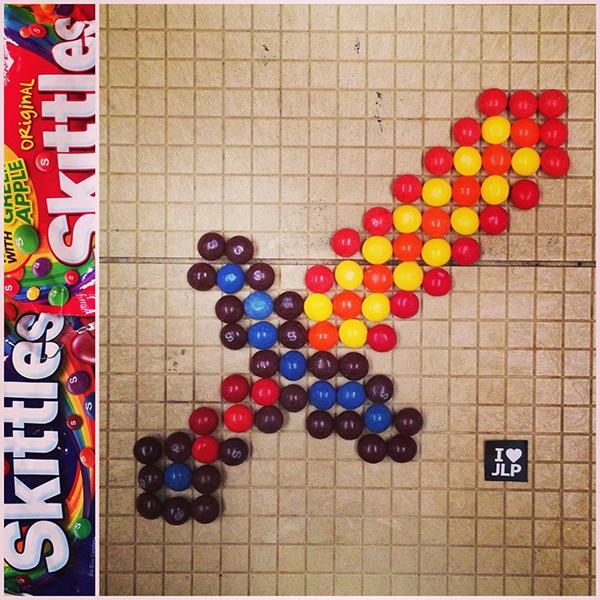 Skittles Art 2: Darkside