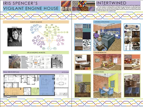 Interior Design Studio 1: Residential Design on Behance