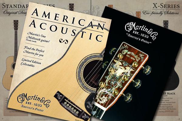 guitar print magazine Martin Layout