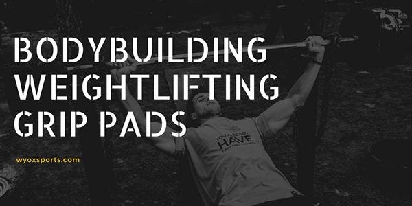 Bodybuilding Weightlifting Grip Pads