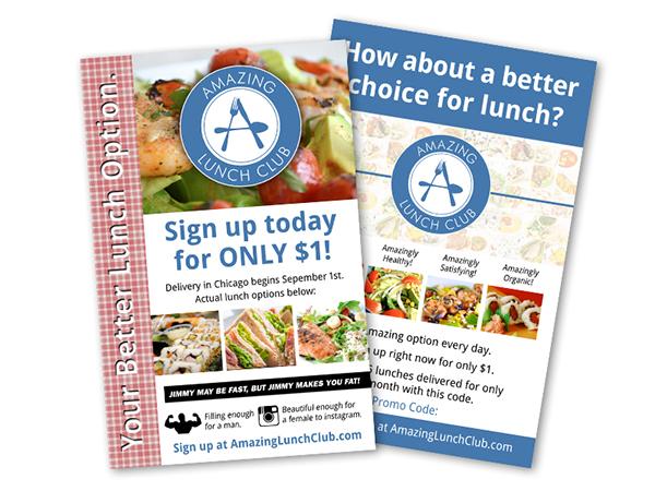 Wed Design Flyer Design Logo Design Web ads Milwaukee Design Lunch club