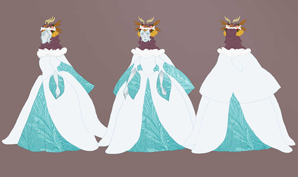 Wrath Of The Snow Witch Character Designs On Fit Portfolios