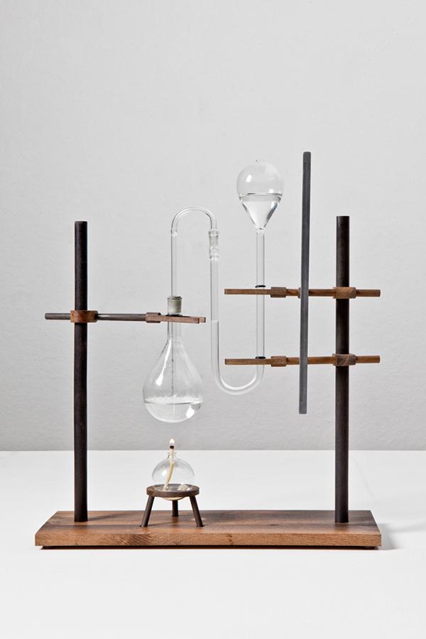 Dutch Invertuals time clock relative time medieval oak wood Dutch Design Week 2010 mieke meijer