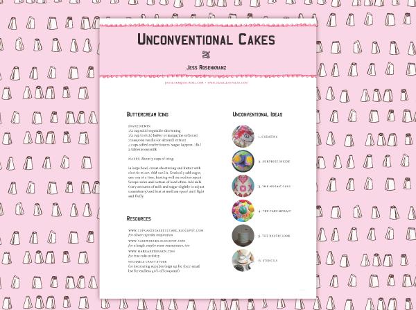 Unconventional Cakes on RISD Portfolios
