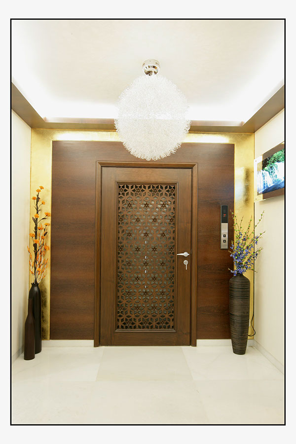 Residence on behance for Entrance door design for flats
