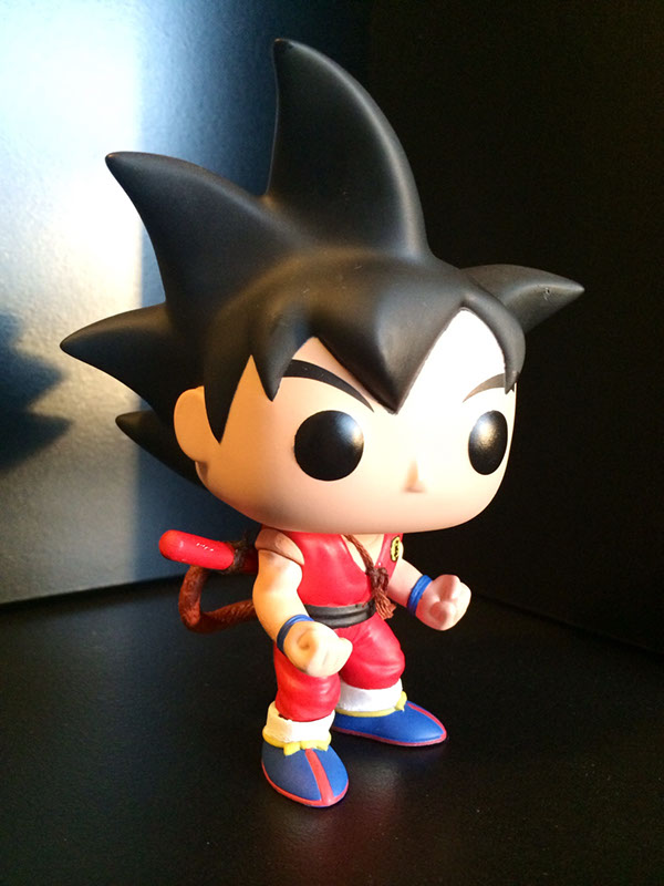 Custom Funko Pop Dragon Ball Kid Goku On Behance