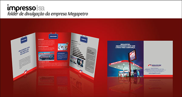 impressos material para impressão  Design Gráfico