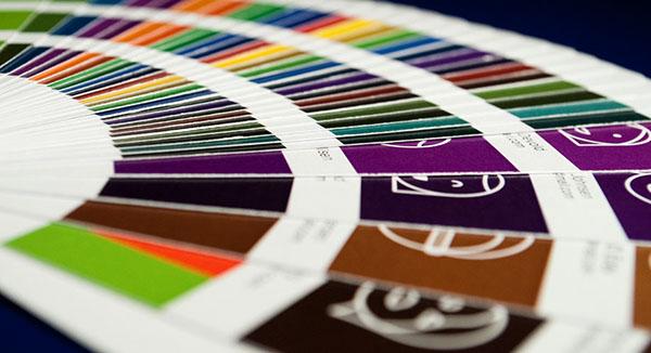 Exhibition  gallery Show Invitation degree show colour fan color fan Minimalism Icon portrait identity