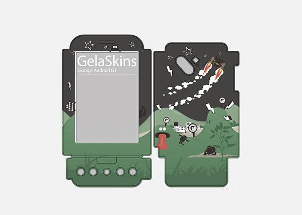 gelaskins x Google Android G1