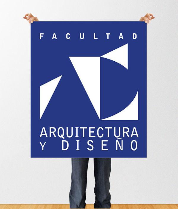 Symbol Design Facultad Arquitectura Y Dise O On Behance